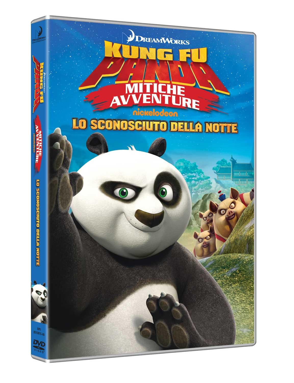 KUNG FU PANDA - MITICHE AVVENTURE - LO SCONOSCIUTO DELLA NOTTE (DVD)