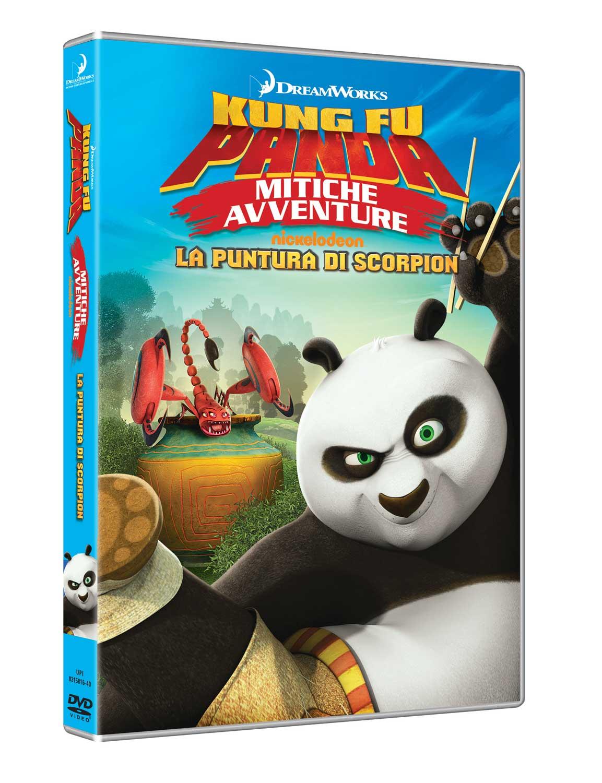 KUNG FU PANDA - MITICHE AVVENTURE - LA PUNTURA DI SCORPION (DVD)