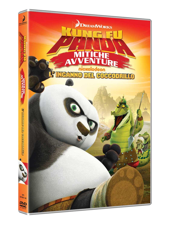 KUNG FU PANDA - MITICHE AVVENTURE - L'INGANNO DEL COCCODRILLO (DVD)
