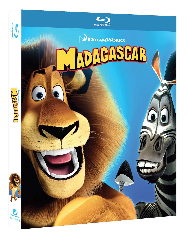 MADAGASCAR - BLU RAY