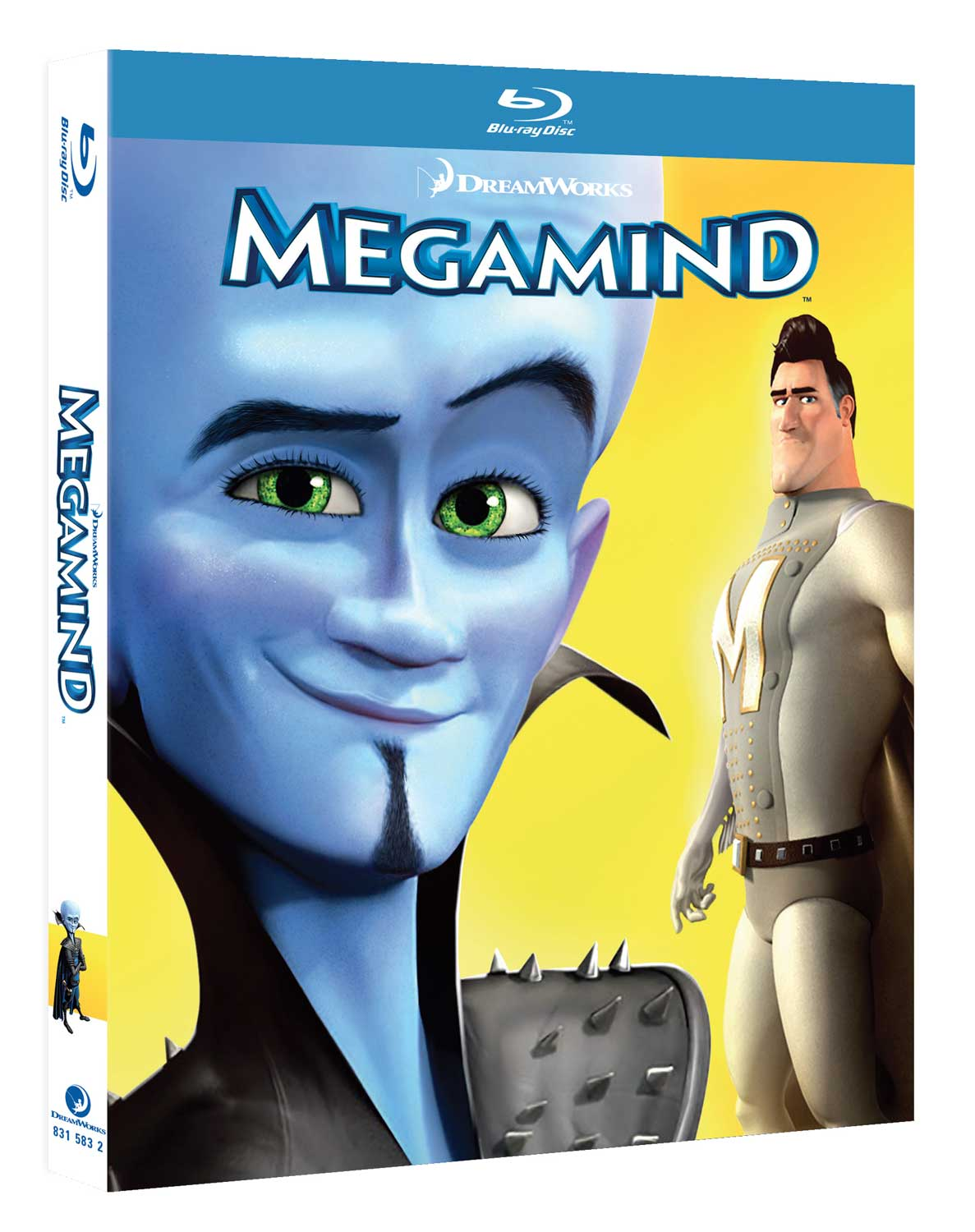 MEGAMIND - BLU RAY