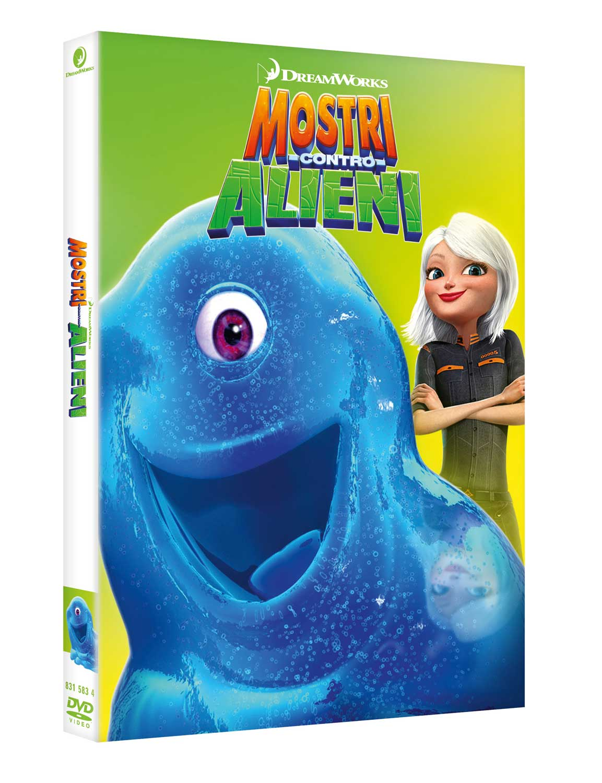 MOSTRI CONTRO ALIENI (DVD)