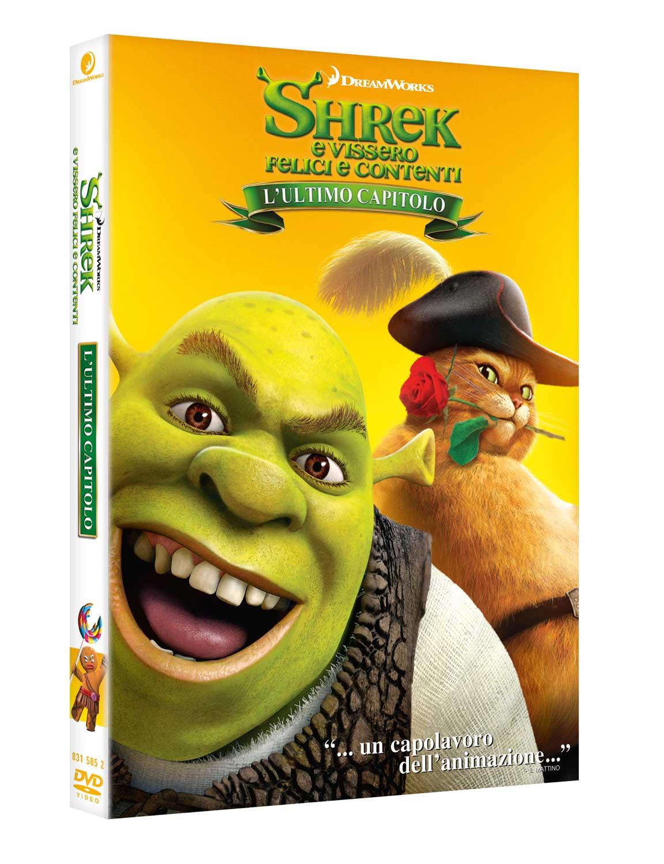 SHREK - E VISSERO FELICI E CONTENTI (DVD)