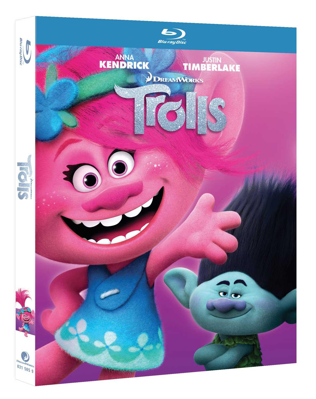 TROLLS - BLU RAY