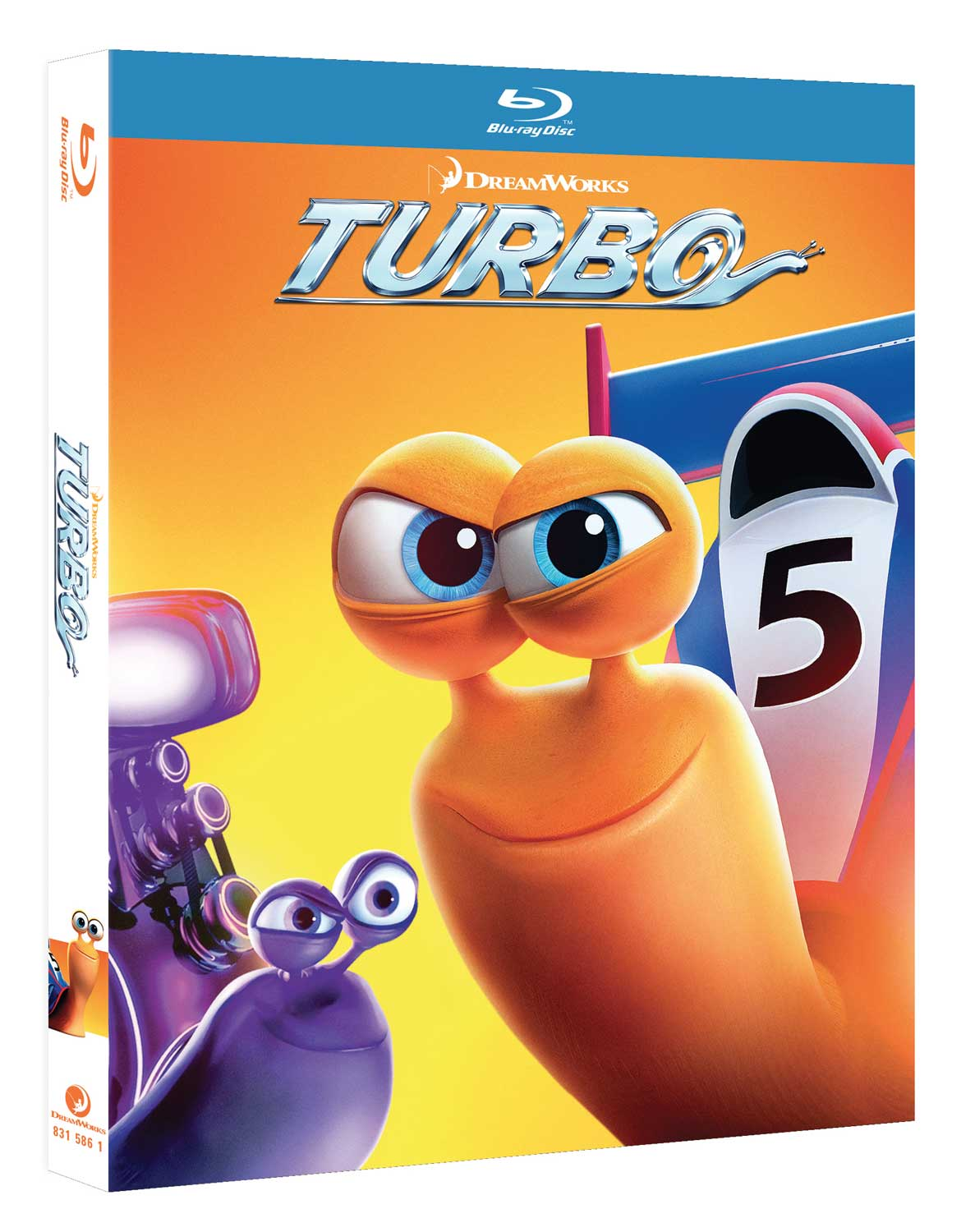 TURBO - BLU RAY