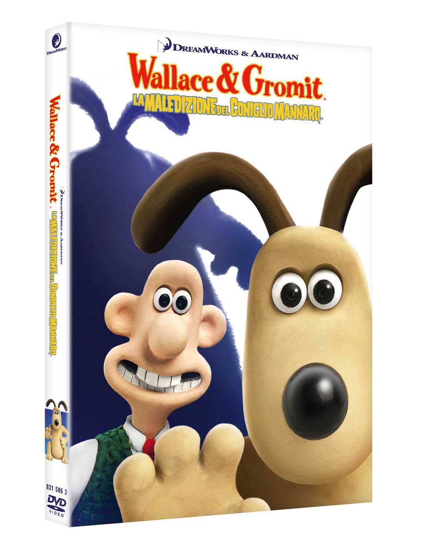 WALLACE & GROMIT - LA MALEDIZIONE DEL CONIGLIO MANNARO (DVD)