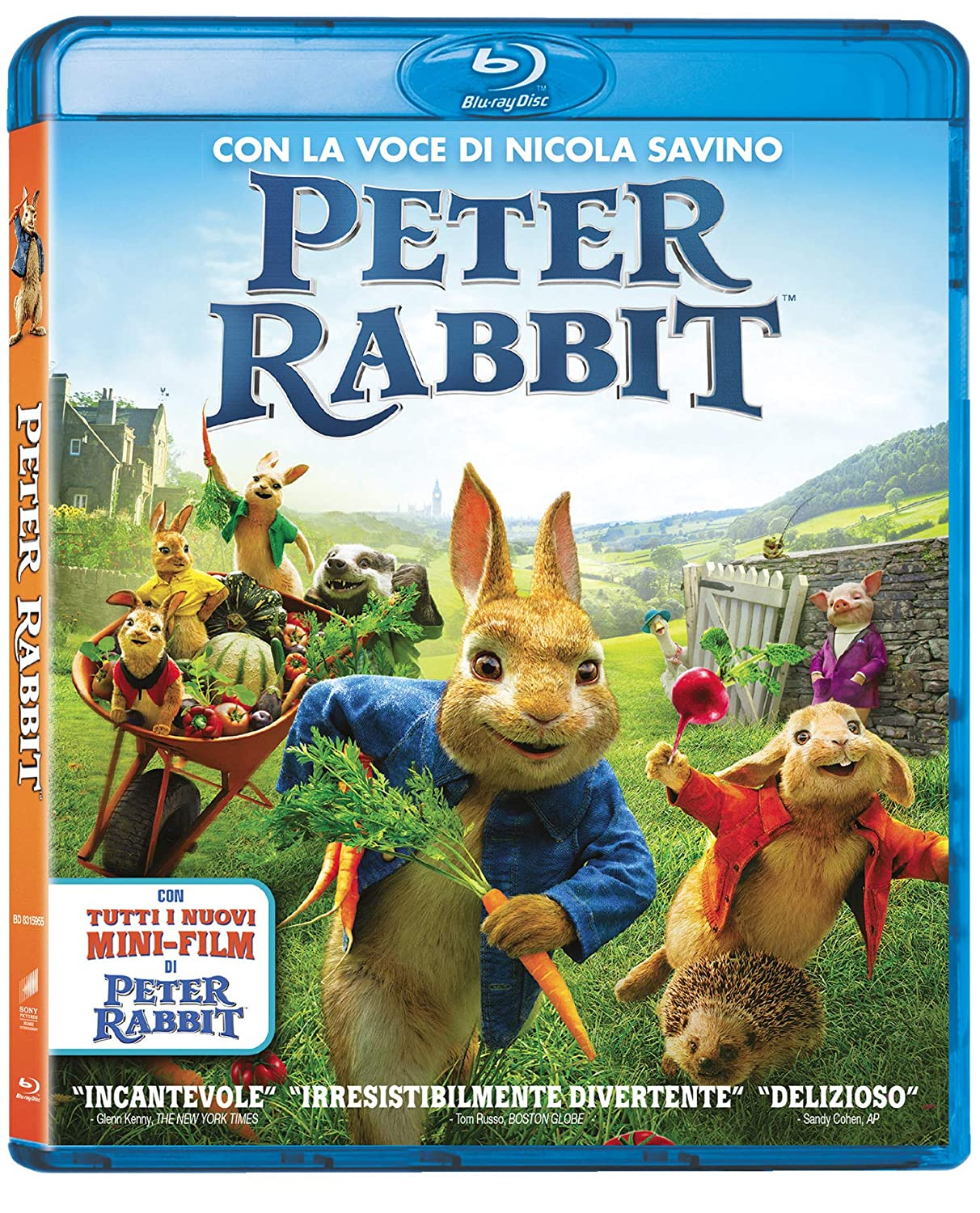 PETER RABBIT - BLU RAY