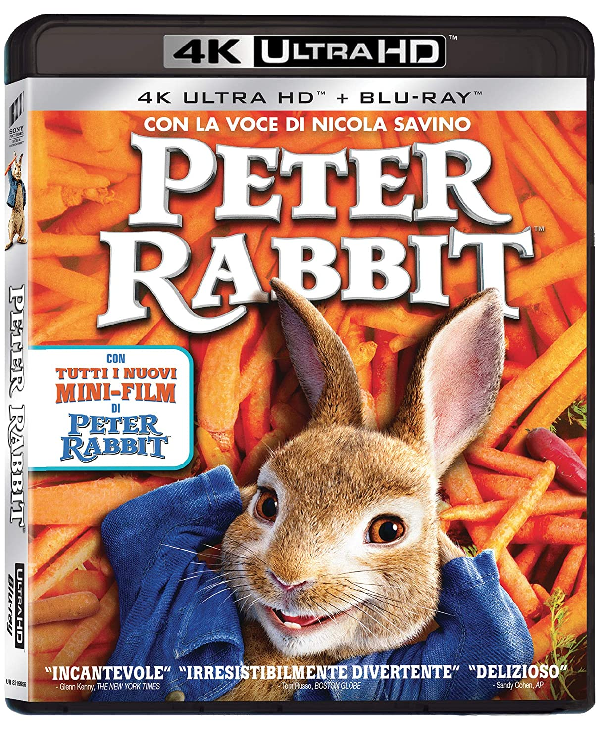 PETER RABBIT (4K UHD+BLU-RAY)