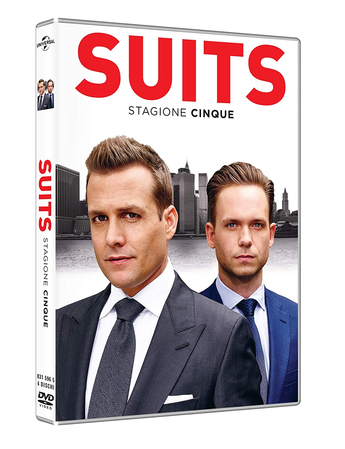COF.SUITS - STAGIONE 05 (4 DVD) (DVD)