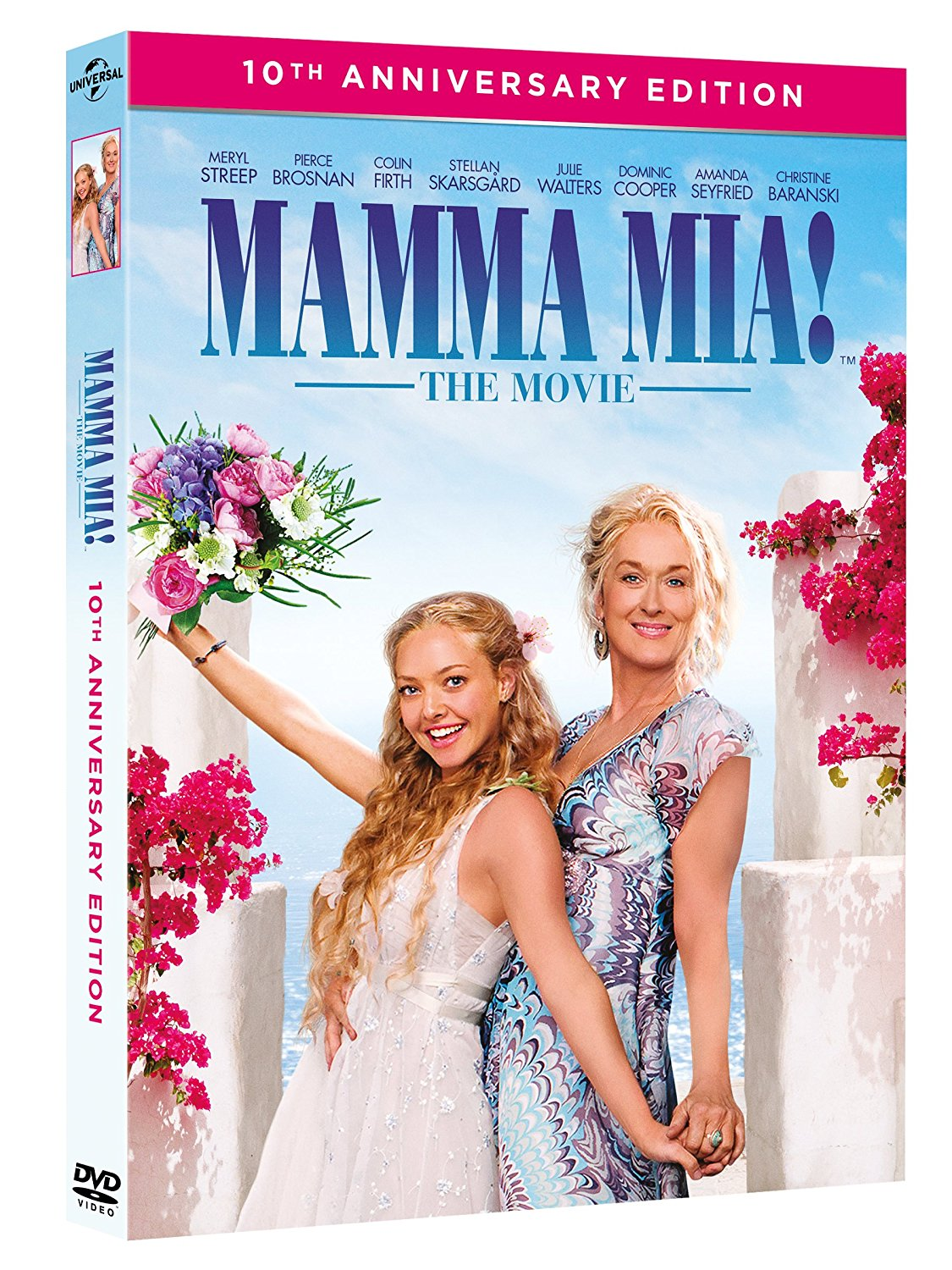 MAMMA MIA! (10TH ANNIVERSARY EDITION) (2 DVD) (DVD)