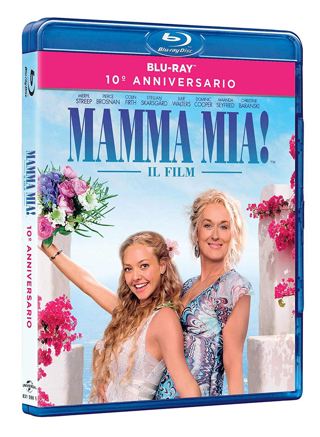 MAMMA MIA! 10TH ANNIVERSARY EDITION (2 BLU-RAY)