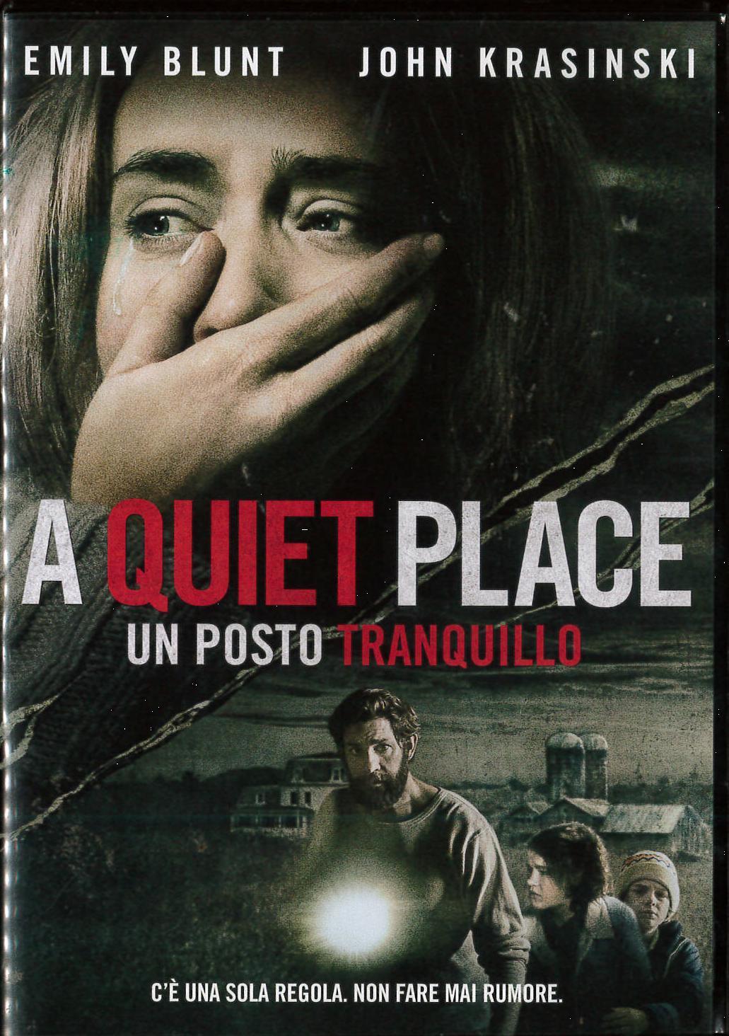 A QUIET PLACE - UN POSTO TRANQUILLO (DVD)