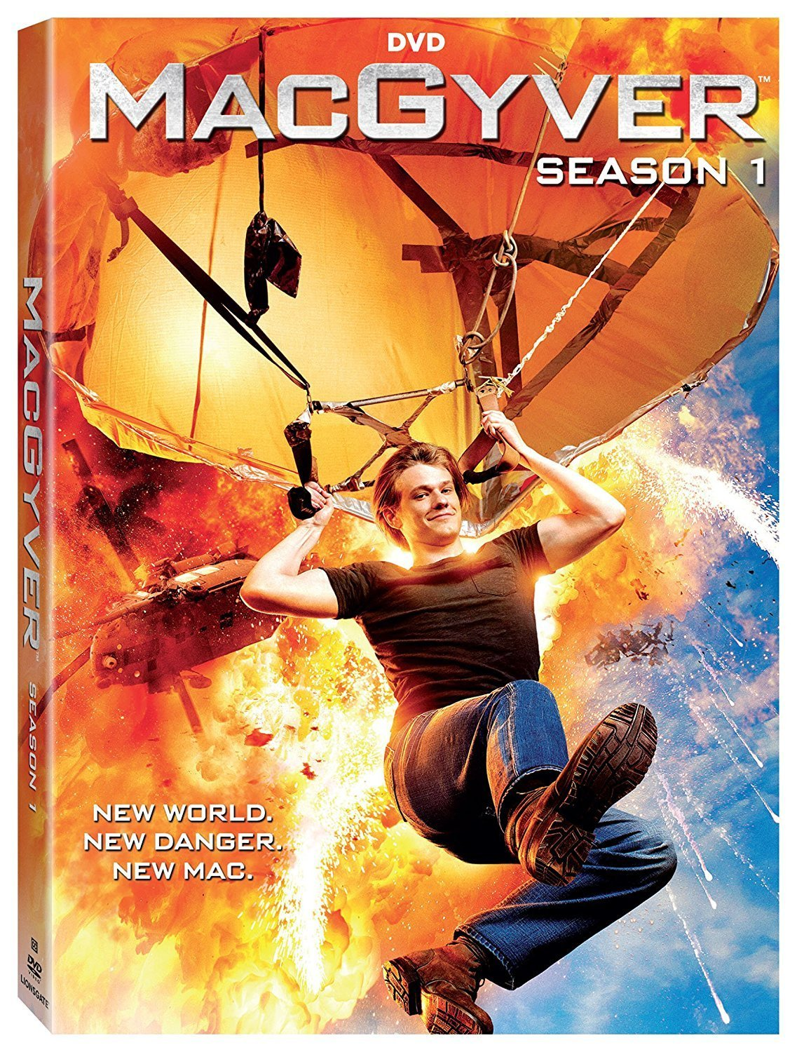 COF.MACGYVER - STAGIONE 01 (5 DVD) - 2016 (DVD)