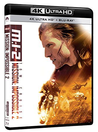 MISSION IMPOSSIBLE 2 (4 UHD + BLU RAY)