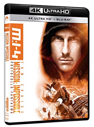 MISSION IMPOSSIBLE 4 - PROTOCOLLO FANTASMA (4K UHD + BLU RAY)