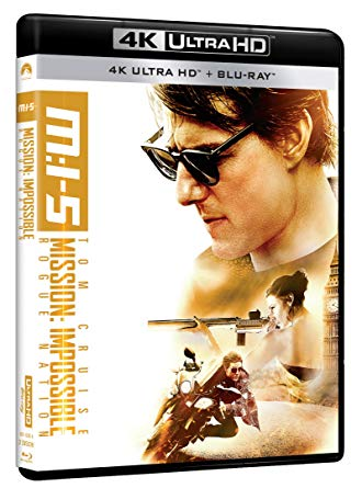 MISSION IMPOSSIBLE 5 - ROGUE NATION (4K UHD + BLU RAY)