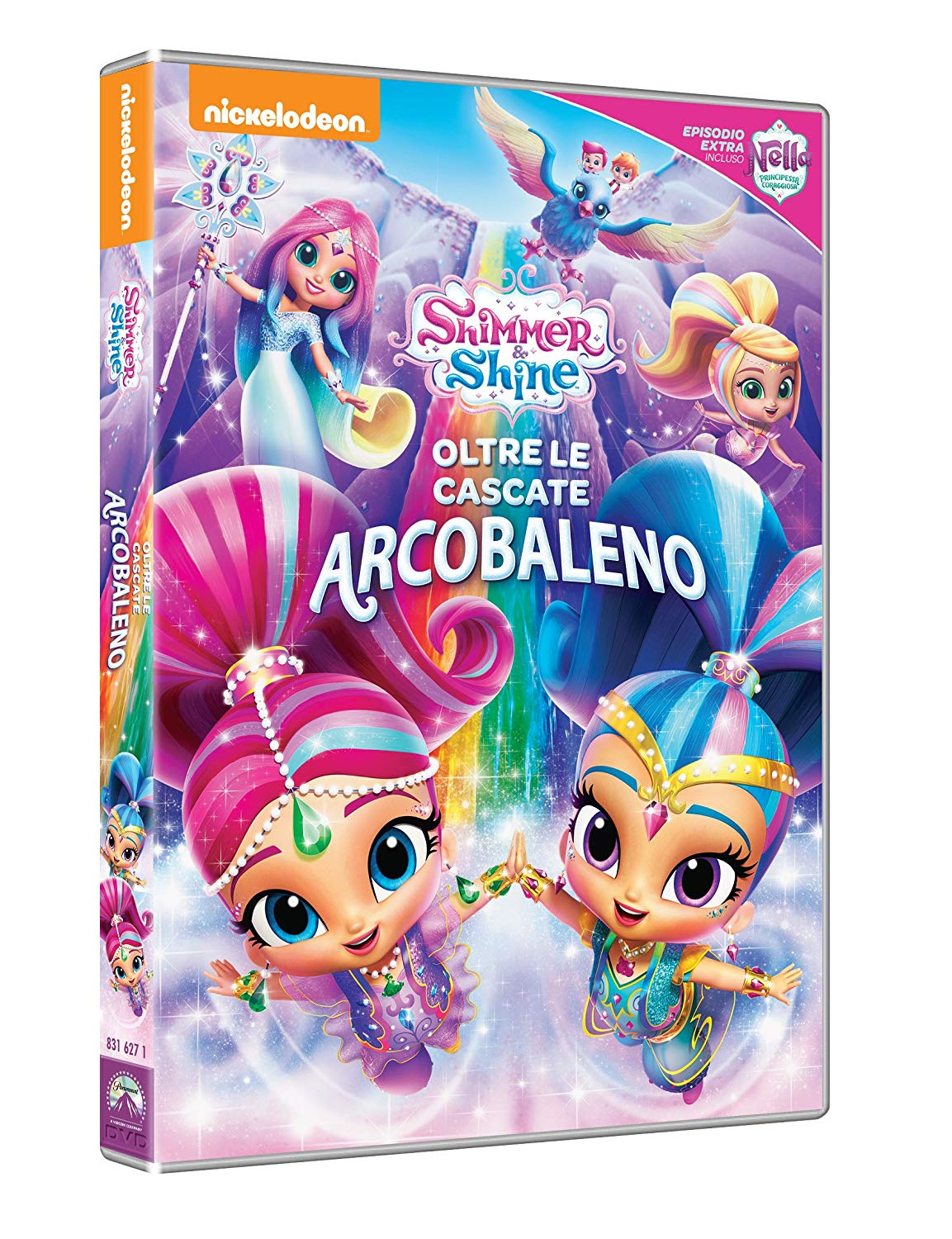 SHIMMER AND SHINE - OLTRE LE CASCATE ARCOBALENO (DVD)