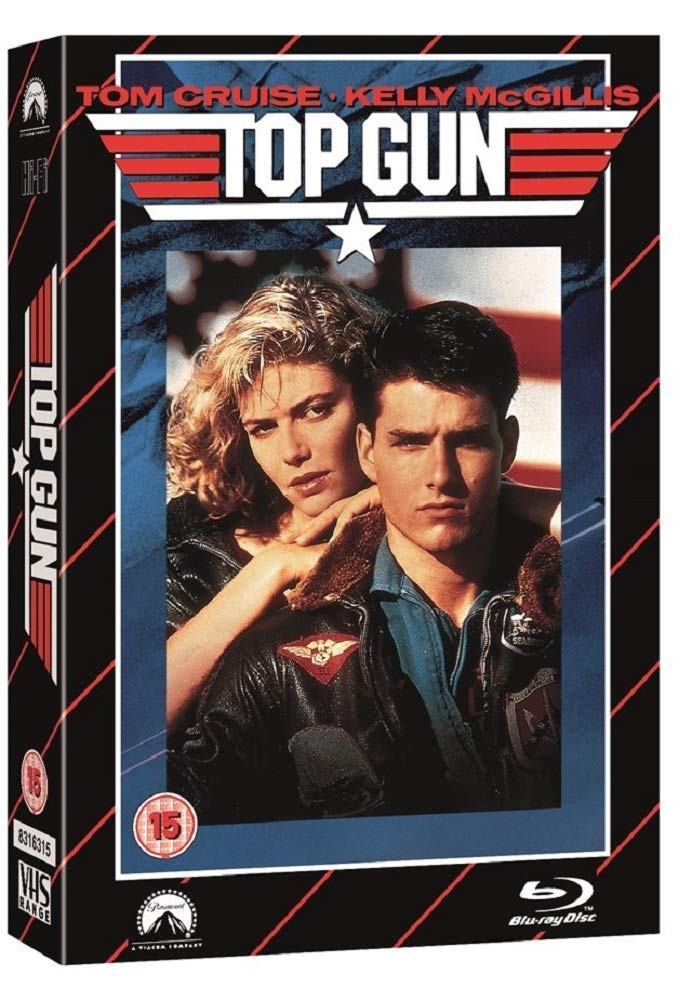 TOP GUN - LIMITED EDITION VHS COLLECTION DVD + BLU-RAY [EDIZIONE