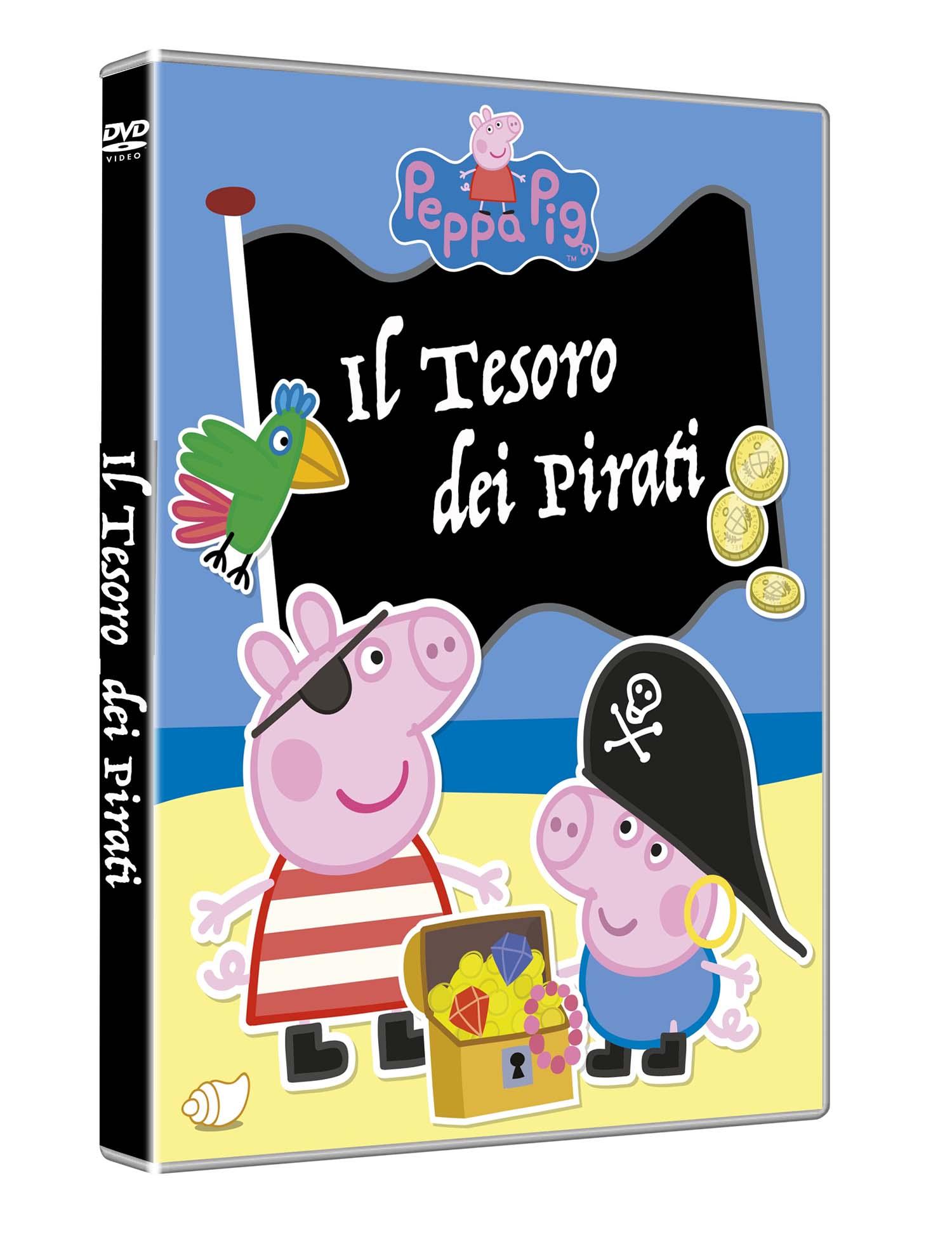 PEPPA PIG - IL TESORO DEI PIRATI (DVD)