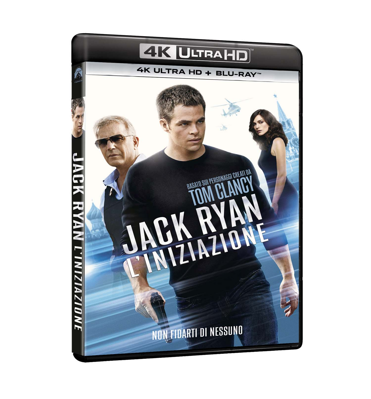JACK RYAN - L'INIZIAZIONE (BLU-RAY 4K ULTRA HD+BLU-RAY)