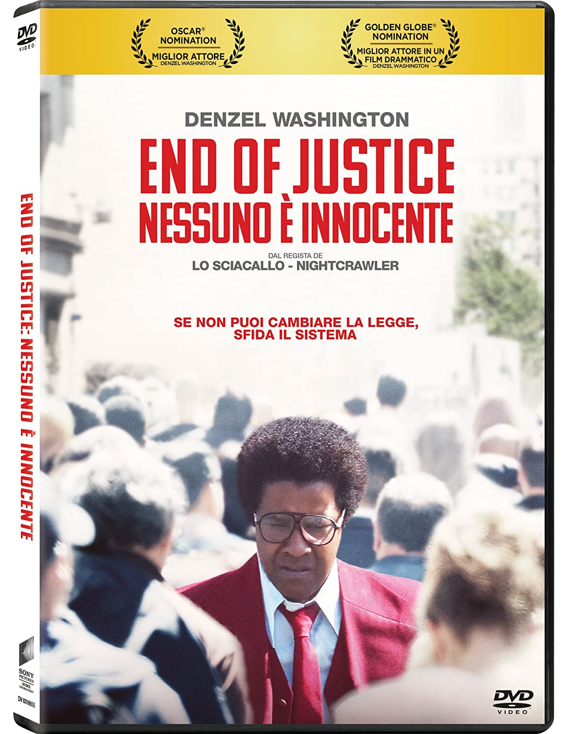 END OF JUSTICE: NESSUNO E' INNOCENTE (DVD)