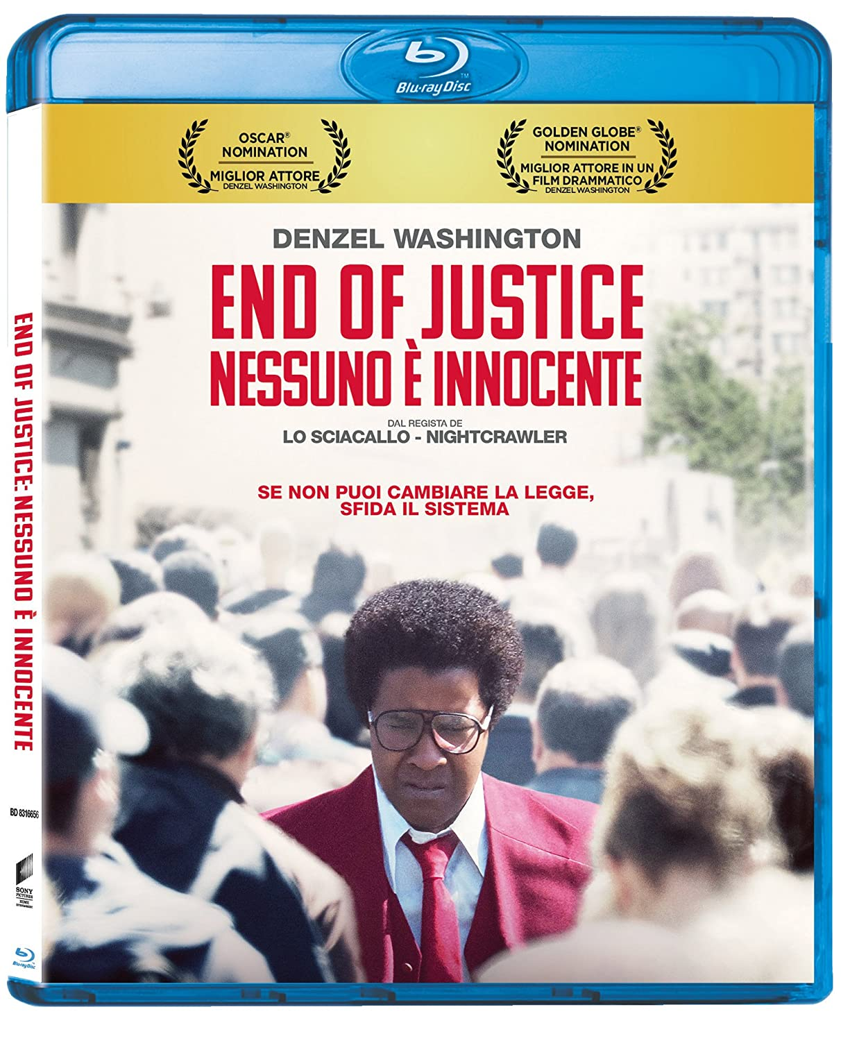 END OF JUSTICE: NESSUNO E' INNOCENTE - BLU RAY