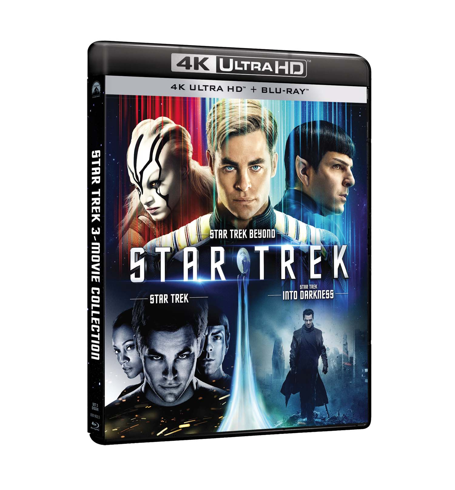 COF.STAR TREK 4K COLLECTION (3 BLU-RAY 4K ULTRA HD+3 BLU-RAY)