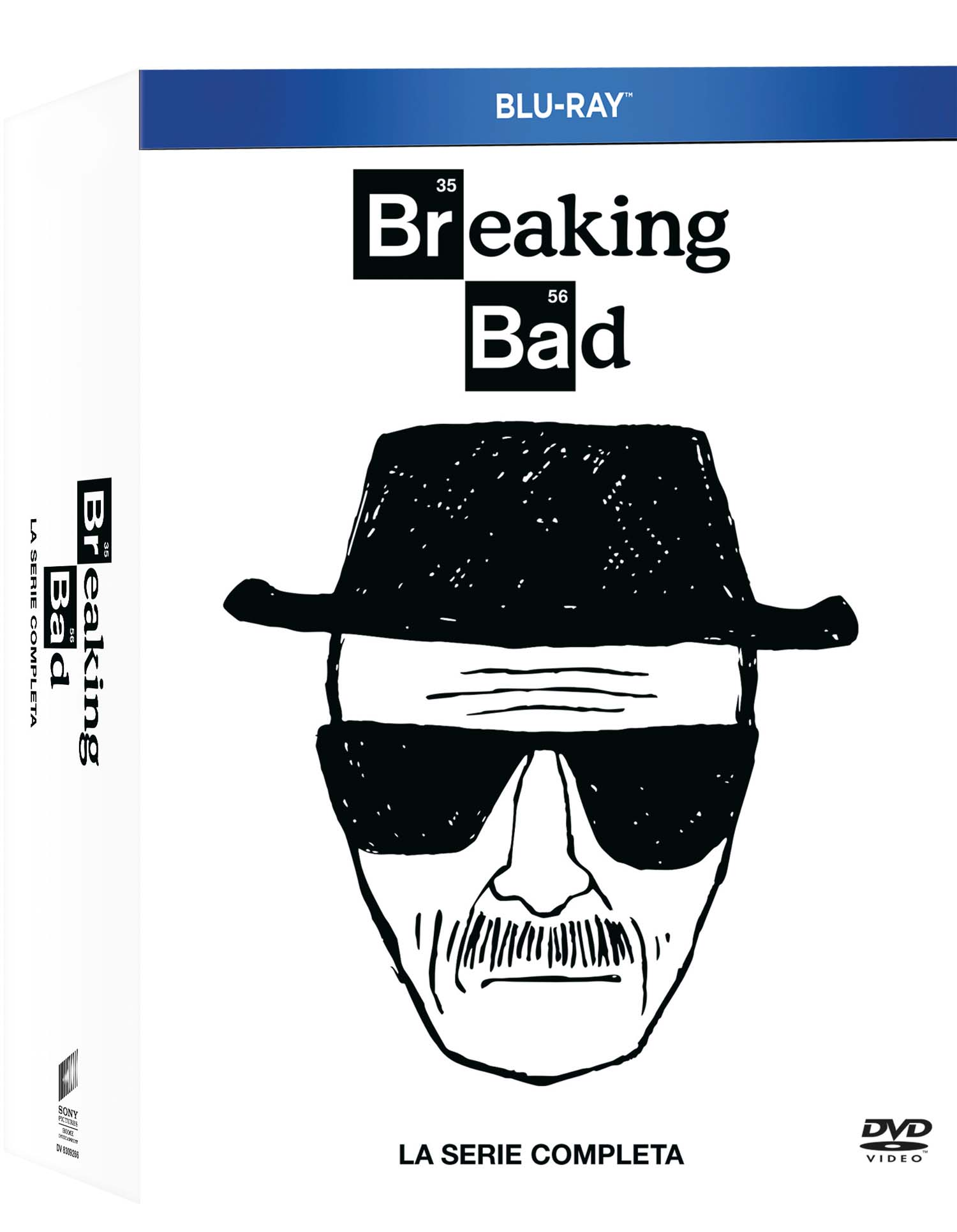COF.BREAKING BAD - LA SERIE COMPLETA (16 BLU-RAY)