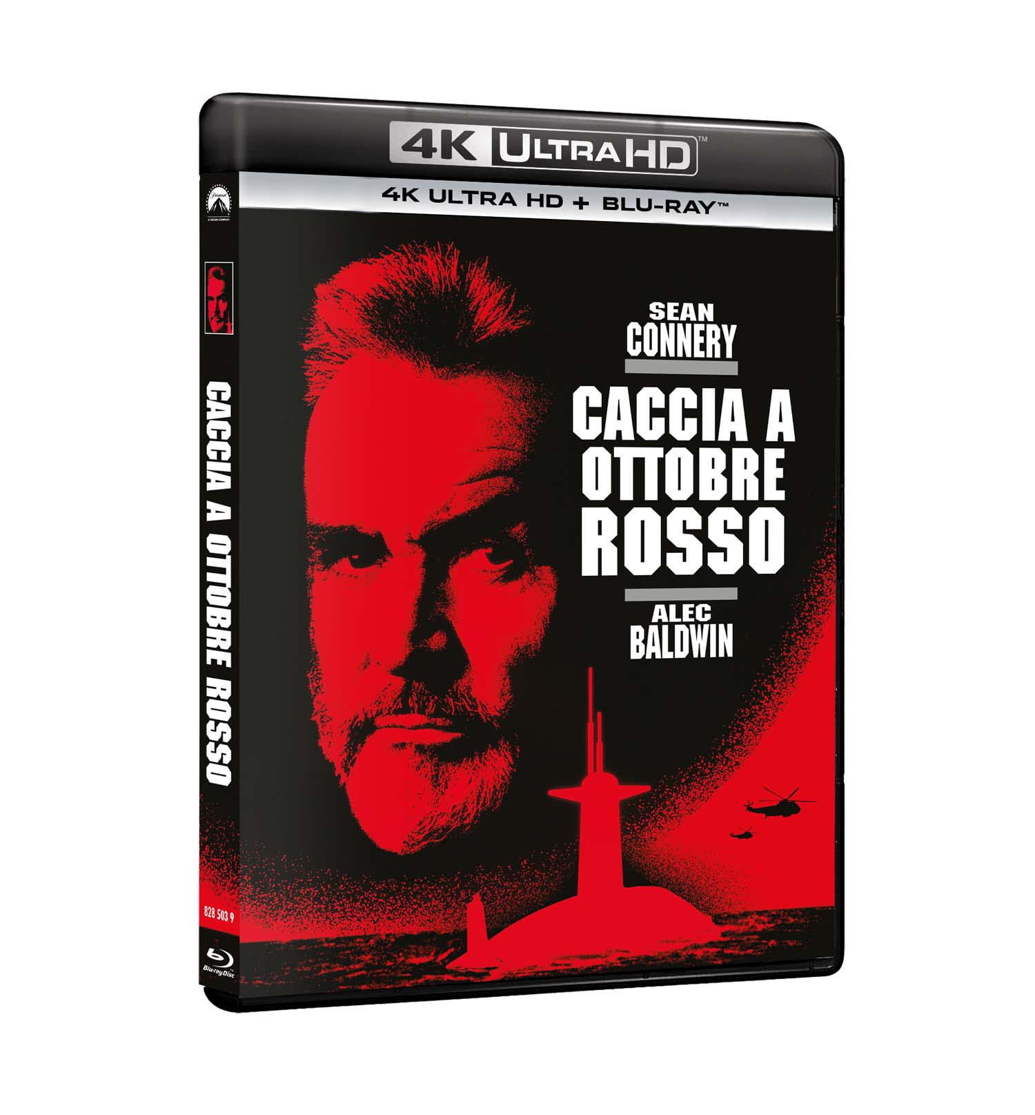 CACCIA A OTTOBRE ROSSO (BLU-RAY 4K ULTRA HD+BLU-RAY)