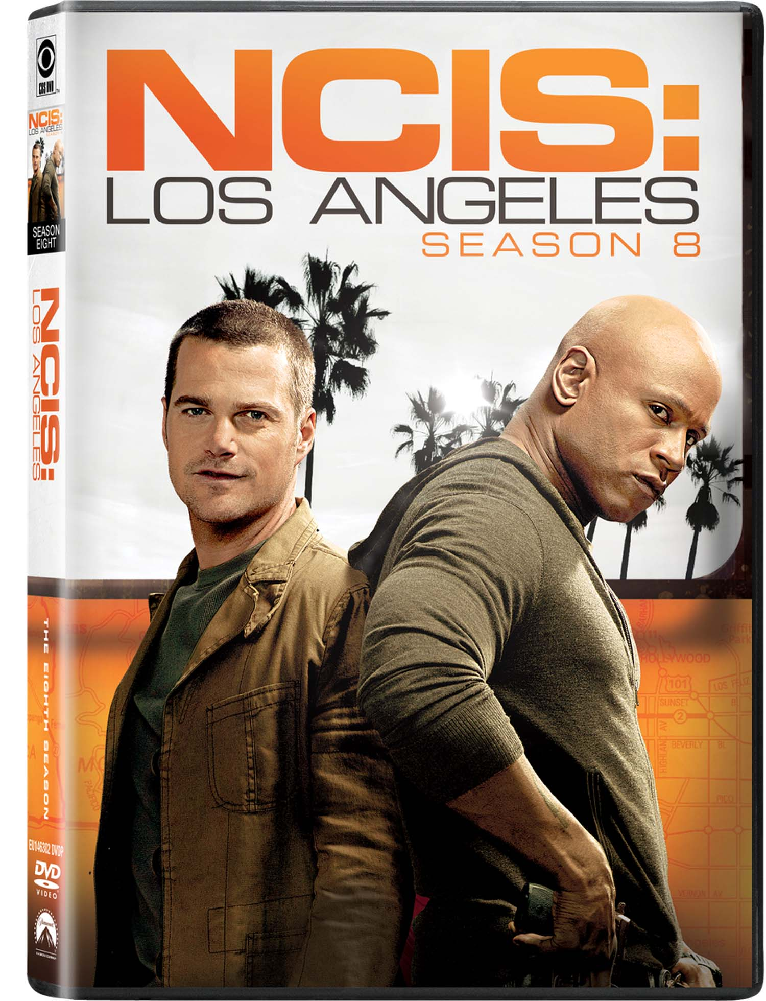 COF.NCIS - LOS ANGELES - STAGIONE 08 (6 DVD) (DVD)
