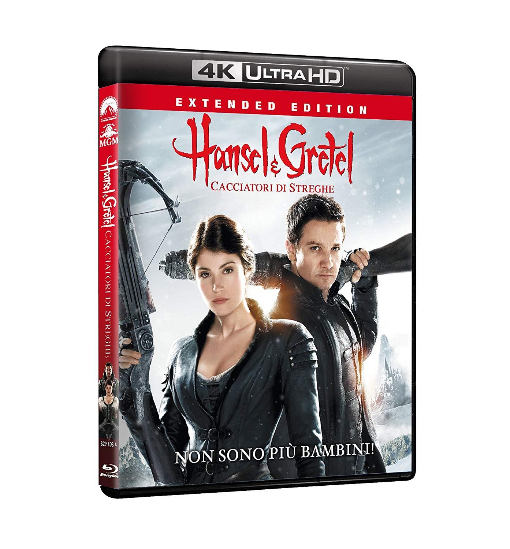 HANSEL & GRETEL - CACCIATORI DI STREGHE (4K UHD+BLU-RAY)