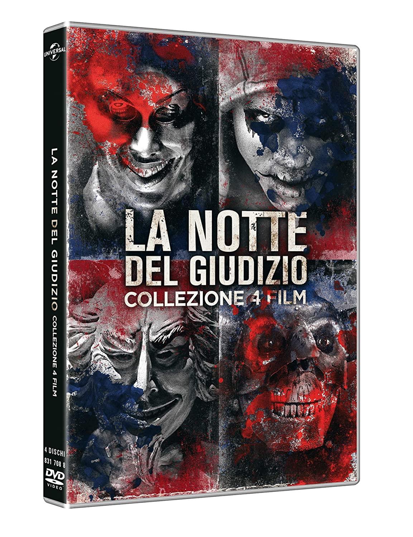 COF.LA NOTTE DEL GIUDIZIO COLLECTION (4 DVD) (DVD)