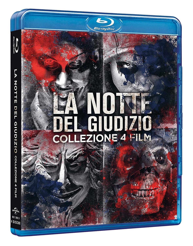 COF.LA NOTTE DEL GIUDIZIO COLLECTION (4 BLU-RAY)
