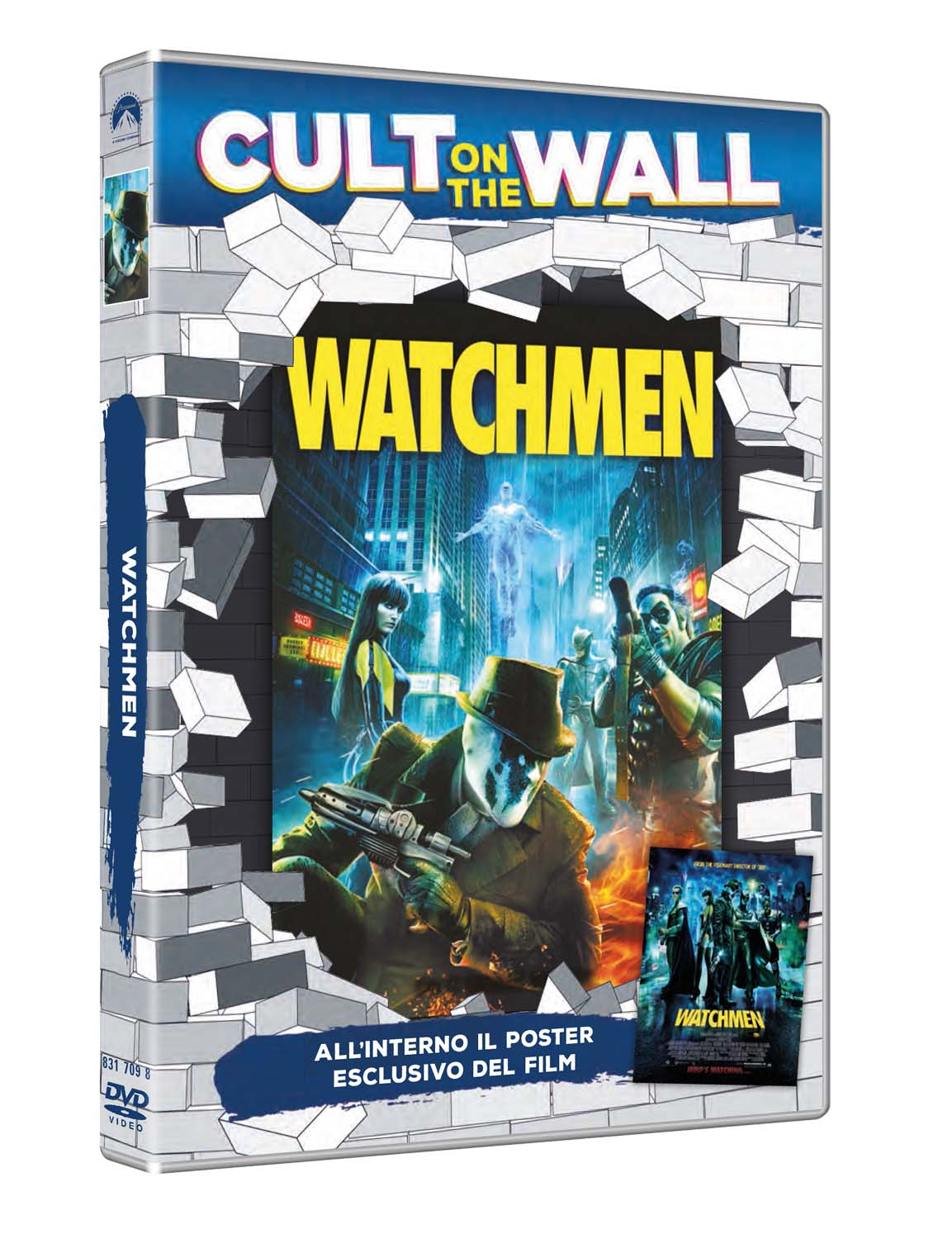 WATCHMEN (CULT ON THE WALL) (DVD+POSTER) (DVD)