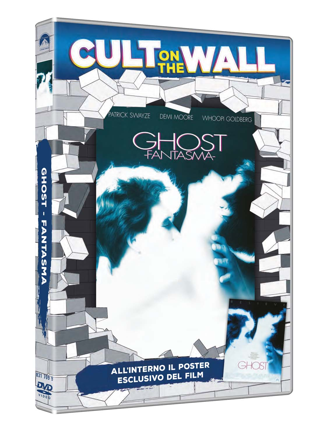 GHOST - FANTASMA (CULT ON THE WALL) (DVD+POSTER) (DVD)
