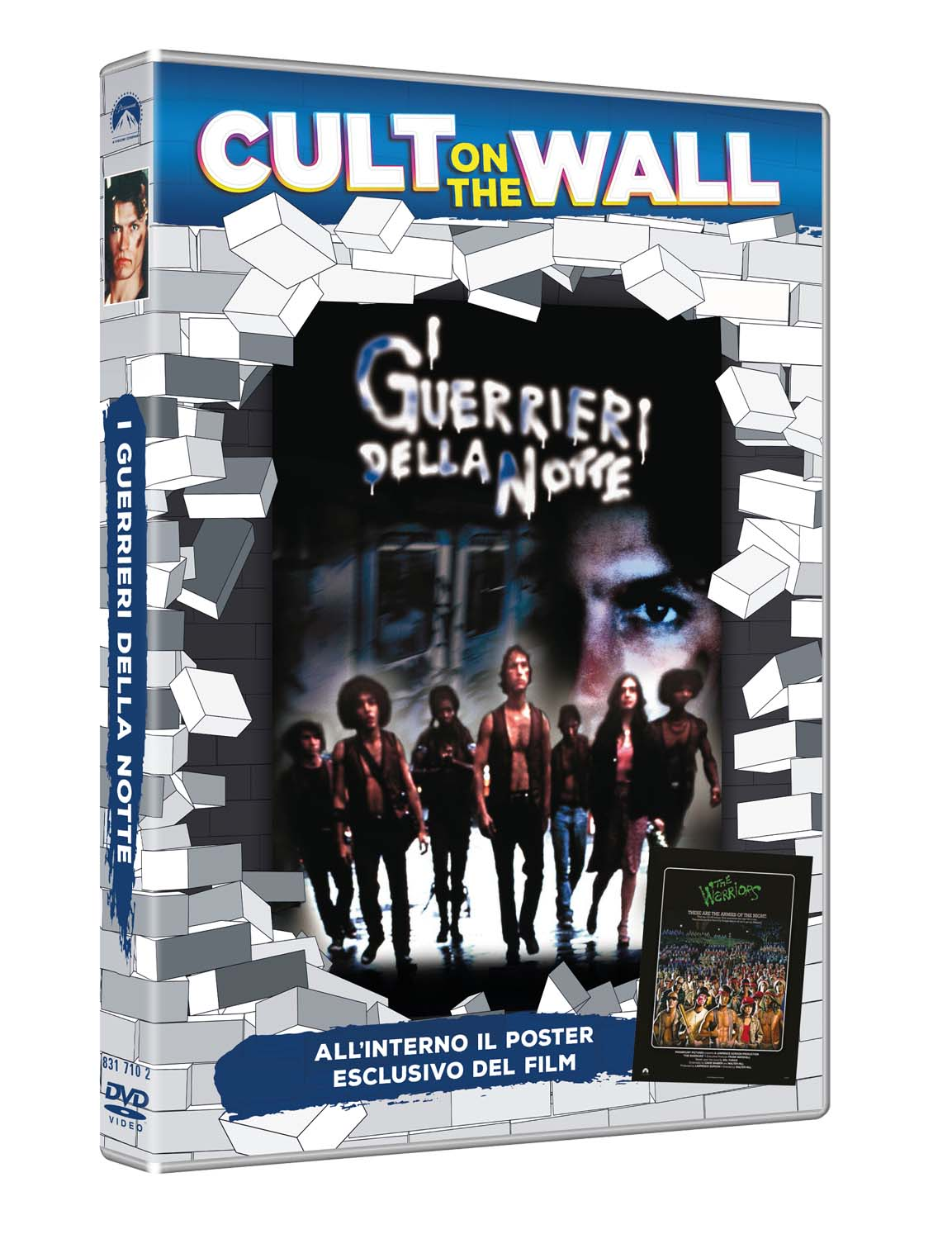 I GUERRIERI DELLA NOTTE (CULT ON THE WALL) (DVD+POSTER) (DVD)