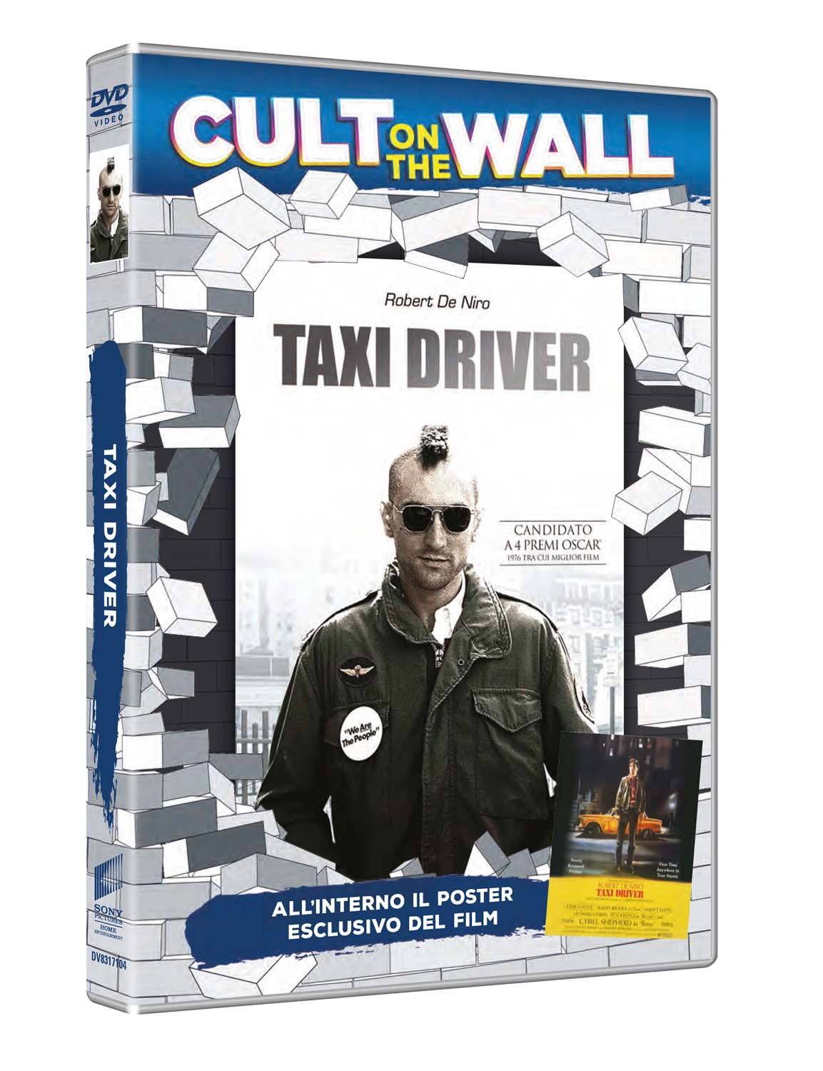 TAXI DRIVER (CULT ON THE WALL) (DVD+POSTER) (DVD)