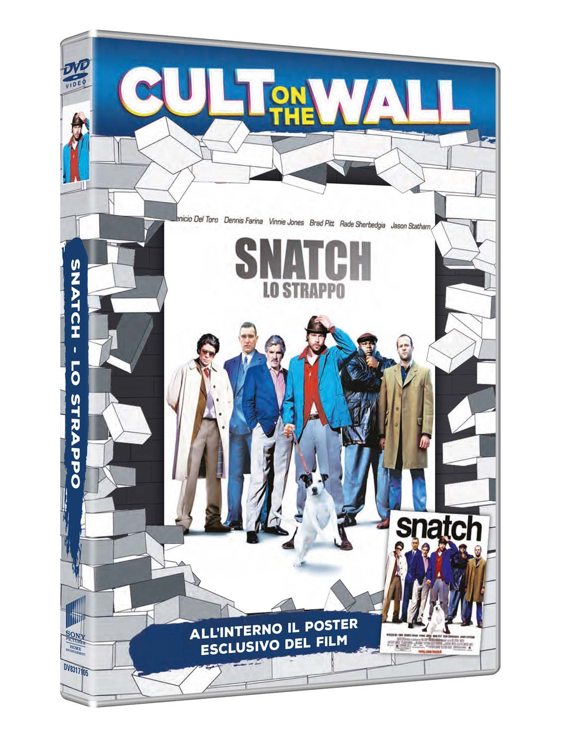 SNATCH - LO STRAPPO (CULT ON THE WALL) (DVD+POSTER) (DVD)