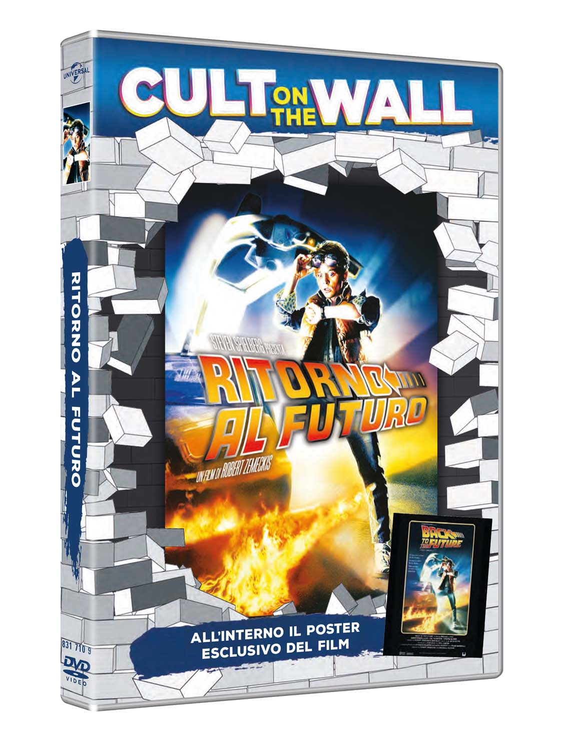 RITORNO AL FUTURO (CULT ON THE WALL) (DVD+POSTER) (DVD)