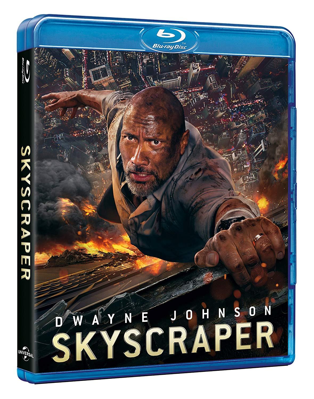 SKYSCRAPER - BLU RAY