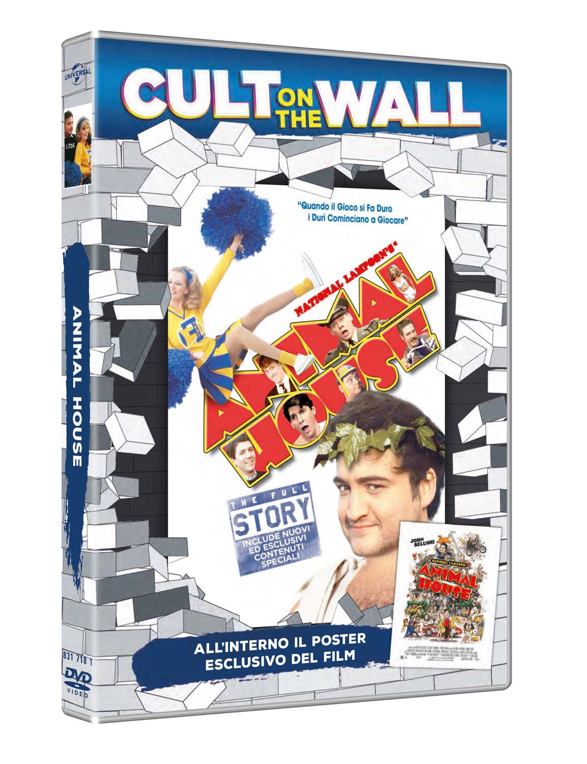 ANIMAL HOUSE (CULT ON THE WALL) (DVD+POSTER) (DVD)