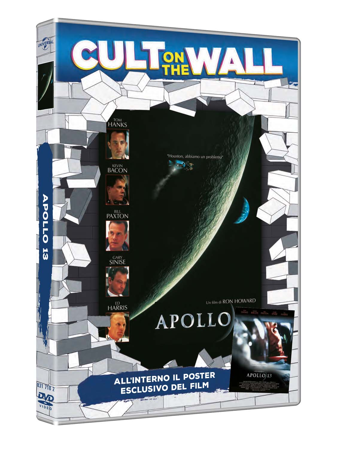 APOLLO 13 (CULT ON THE WALL) (DVD+POSTER) (DVD)