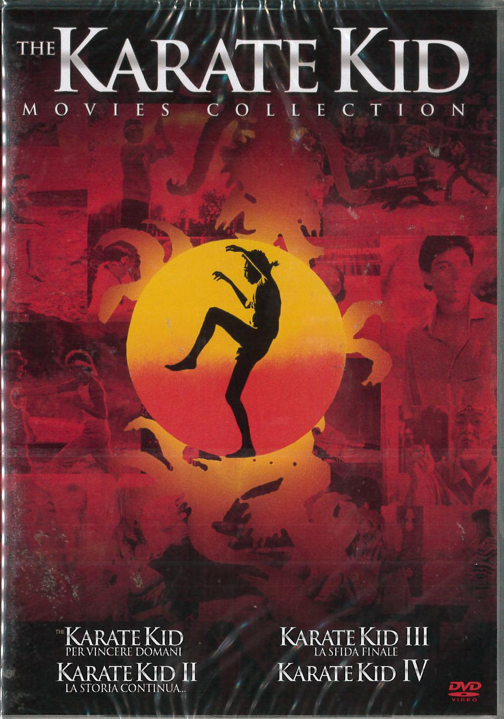 COF.KARATE KID COLLECTION (4 DVD) (DVD)