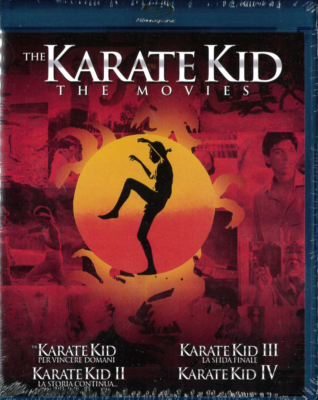 COF.KARATE KID COLLECTION (4 BLU-RAY)