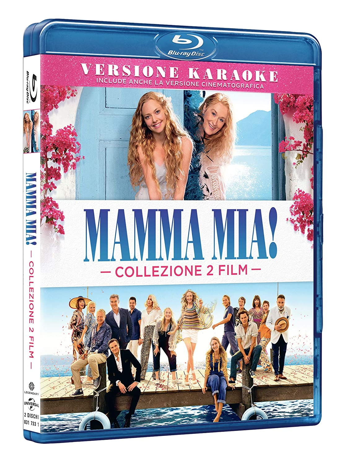COF.MAMMA MIA COLLECTION (2 BLU-RAY)