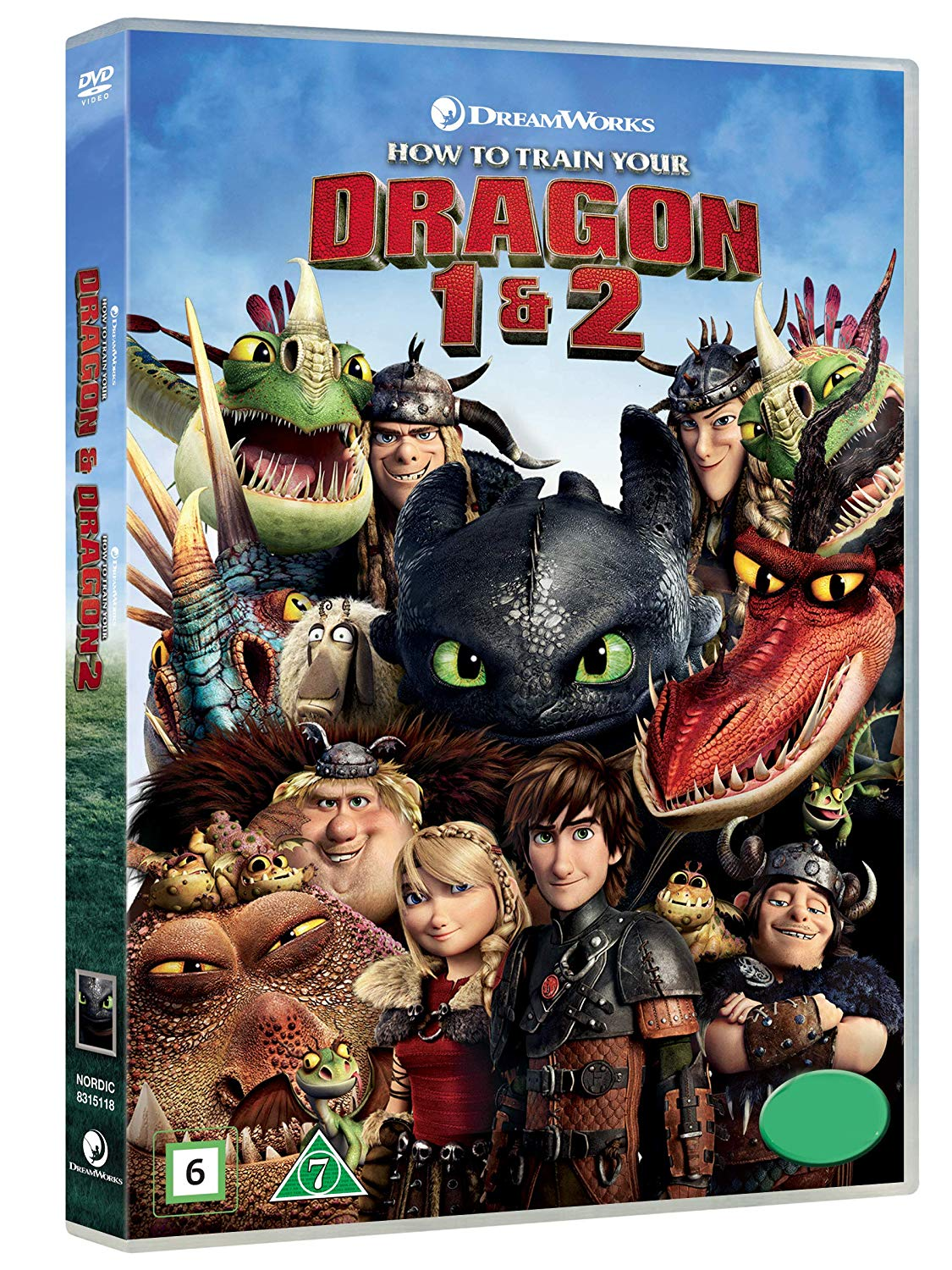 COF.DRAGON TRAINER COLLECTION (2 DVD) (DVD)