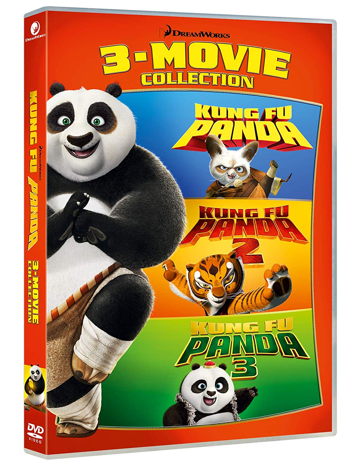 COF.KUNG FU PANDA 1-3 COLLECTION (3 DVD) (DVD)