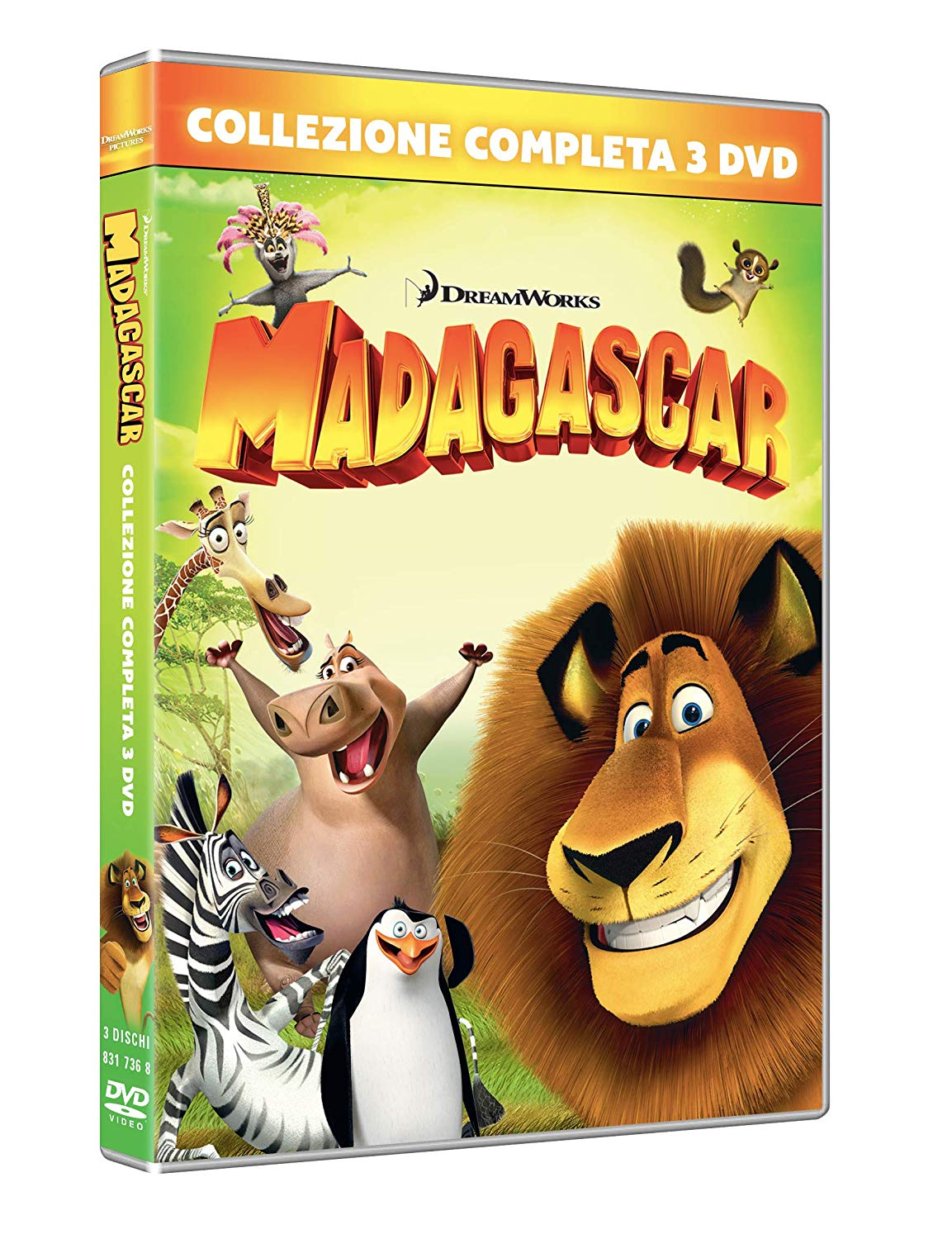 COF.MADAGASCAR 1-3 COLLECTION (3 DVD) (DVD)