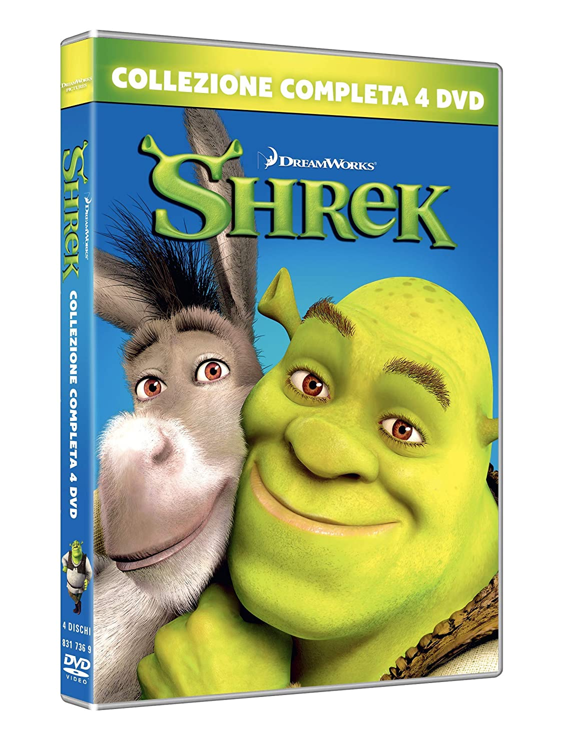 COF.SHREK 1-4 COLLECTION (4 DVD) (DVD)