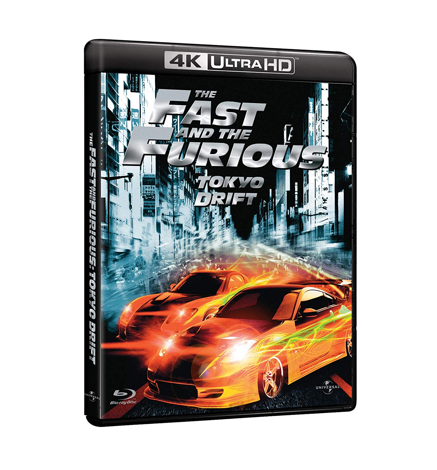 THE FAST AND THE FURIOUS - TOKYO DRIFT (BLU-RAY 4K UHD+BLU-RAY)
